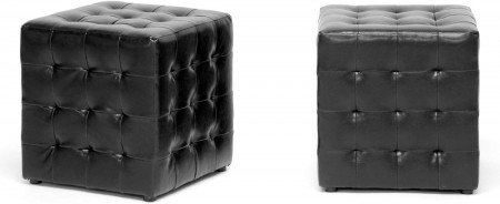 Cube Ottomans [Set of 2]