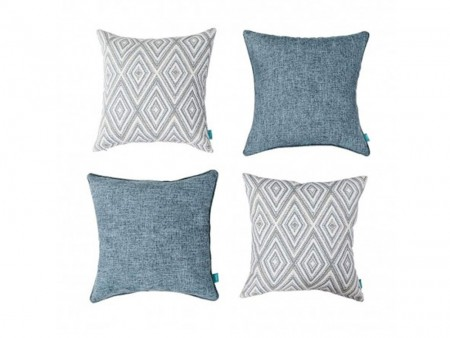 Inhabitr Cotton Decorative Pillow
